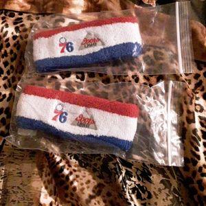 2 Terry headband coorslight 76ers